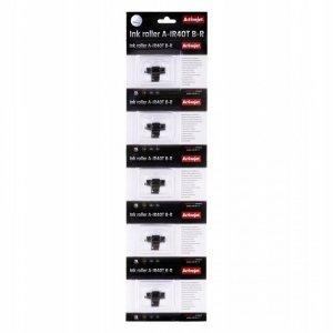 Zestaw wałków barwiących Activejet A-IR40T (zamiennik Epson IR40T; Supreme; czarny, czerwony, 5 sztuk)
