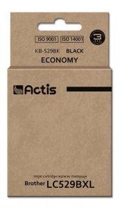 Tusz ACTIS KB-529Bk (zamiennik Brother LC529BK; Standard; 58 ml; czarny)