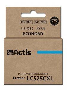 Tusz ACTIS KB-525C (zamiennik Brother LC525C; Standard; 15 ml; niebieski)