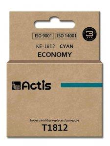 Tusz ACTIS KE-1812 (zamiennik Epson T1812; Standard; 15 ml; niebieski)