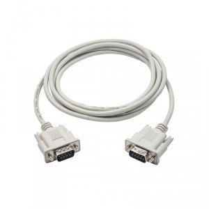 Kabel Akyga AK-CO-03 (RS-232 M - RS-232 M; 2m; kolor biały)