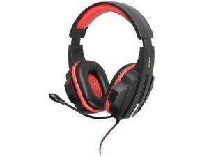 Słuchawki z mikrofonem Tracer Battle Heroes Expert TRASLU45098 (kolor czerwony)