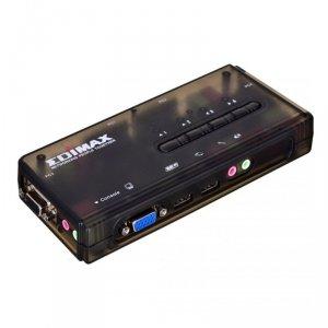 Przełącznik KVM EDIMAX EK-UAK4 (350MHz High Bandwidth 4 Ports USB)