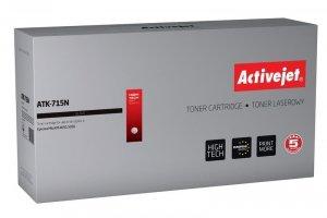 Toner Activejet ATK-715N (zamiennik Kyocera TK-715; Supreme; 34000 stron; czarny) (WYPRZEDAŻ)