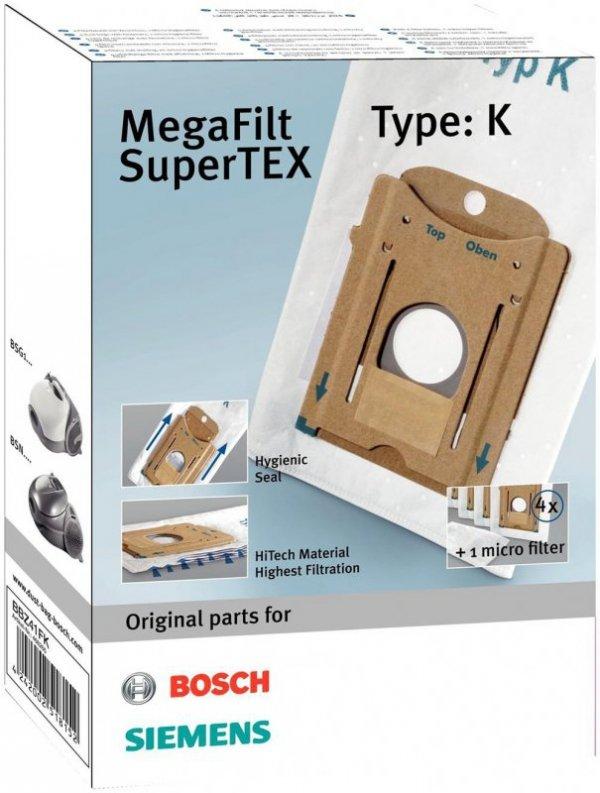 Worek do odkurzacza Bosch, Siemens (Karton; BOSCH BBZ41FK; 4 szt. + 1 filtr)