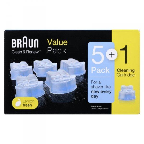 Wkład z płynem czyszczącym do golarek BRAUN CCR5+1