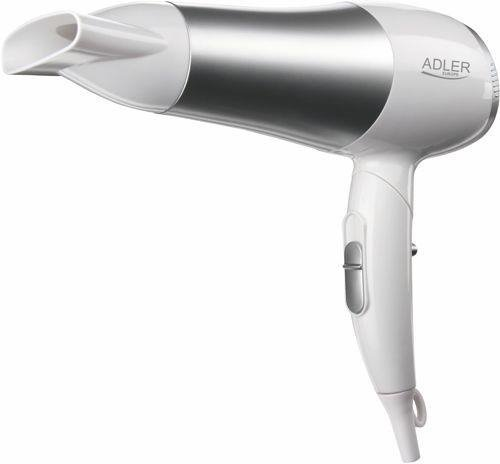 Adler Dryer AD 2225 (2200 W; white color) Srebrny, Biały 2000 W