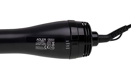 Suszarko - szczotka do włosów Adler AD 2023 (1000W; kolor czarny)