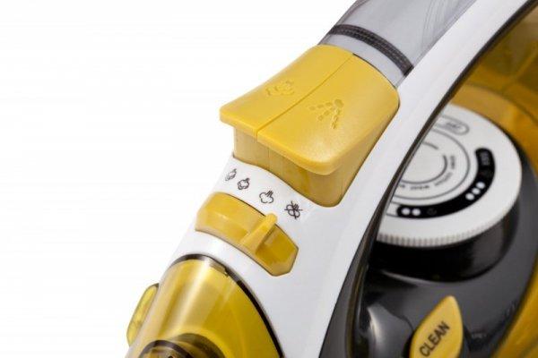 Żelazko parowe Adler CR 5029 (2400W; kolor żółty)