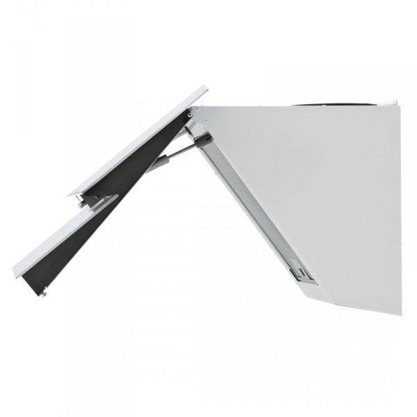 Okap kominowy AKPO WK-4 Balance 60 Biały (600mm; front białe szkło stal nierdzewna)