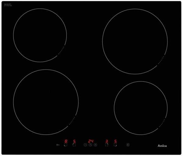 Płyta indukcyjna Amica PI6540PTU (4 pola grzejne; kolor czarny)
