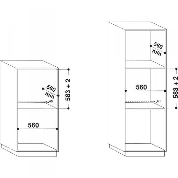 Piekarnik gazowy HOTPOINT-ARISTON GA2 124 IX HA