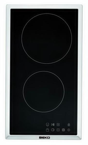Beko HDMC 32400 TX płyta kuchenna Stal nierdzewna Wbudowany Ceramiczna 2 zone(s)