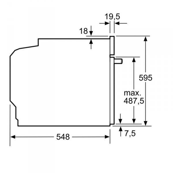 Piekarnik BOSCH HBG633NB1 (Elektroniczne / przyciskowe)