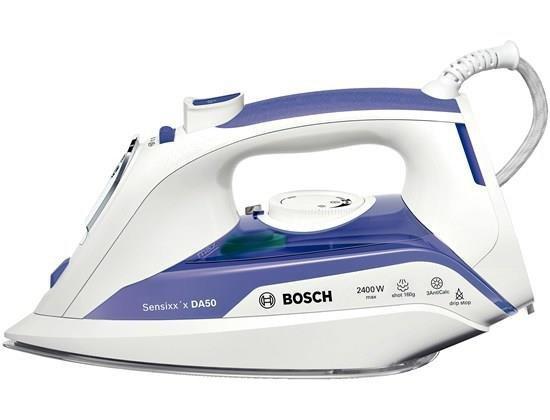 Bosch Sensixx'x DA50 Żelazko suche i parowe Liliowy, Biały 2400 W