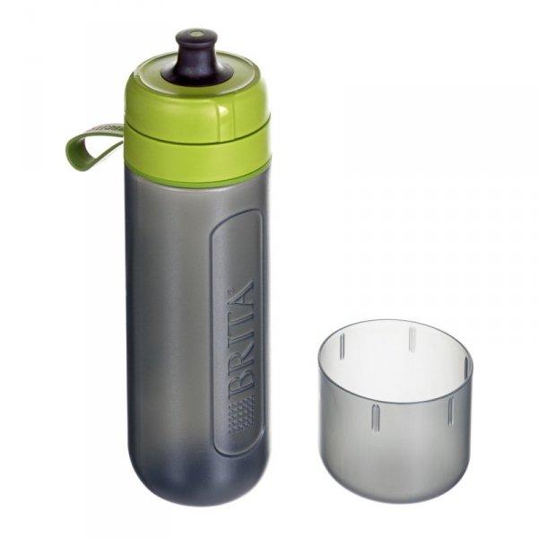 Brita Fill&Go Active 600 ml sportowe Czarny, Limonka Plastik