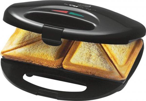 Opiekacz do kanapek Clatronic ST 3477 (750W; kolor czarny)