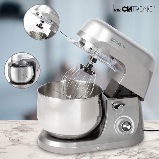 Robot kuchenny Clatronic KM 3709 (1000W) szary