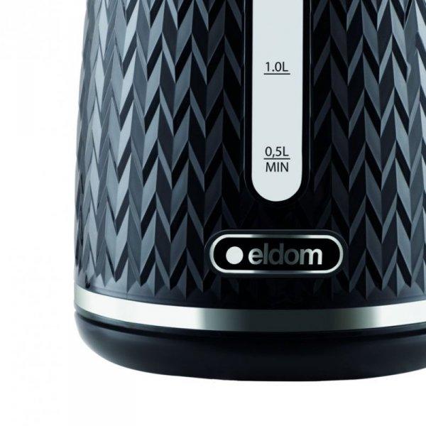Czajnik bezprzewodowy Eldom C260C NELO, czarny