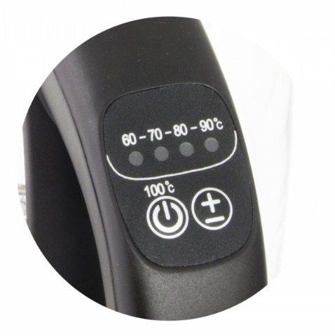 Esperanza EKK027 czajnik elektryczny 1,7 l Czarny, Przezroczysty 2200 W