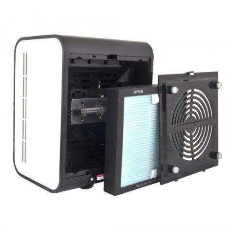 Esperanza EHP001 oczyszczacz powietrza 45 dB Czarny, Biały