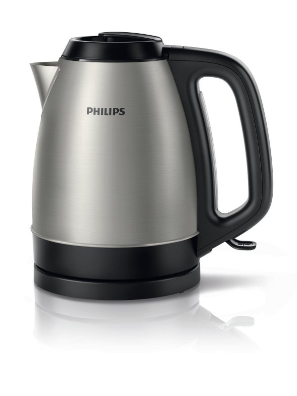 Philips Matowy metaliczny czajnik 1,5 l o mocy 2200 W