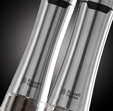Russell Hobbs 23460-56 młynek do przypraw Salt & pepper grinder set Stal nierdzewna