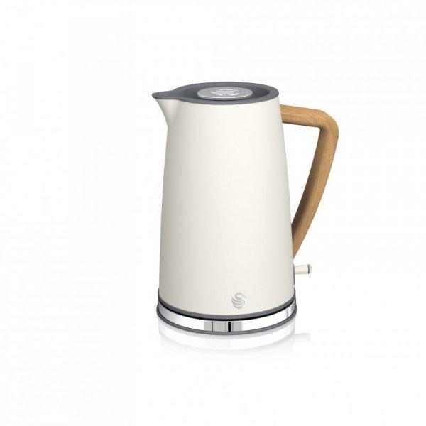 Czajnik elektryczny Swan Nordic Cordless Kettle SK14610WHTN (3000W 1.7l; kolor biały)