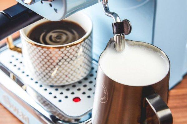 Ekspres ciśnieniowy Swan Espresso Coffee Machine SK22110BLN (1100W; kolor niebieski)