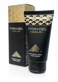 Żel/sprej-Titan GEL GOLD 50ml.( ORGINAL )