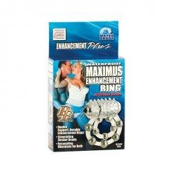 Pierścień-MAXIMUS RING 10 STROKE BEADS VIBR.