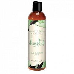 Środek nawilżający - Intimate Earth Natural Flavors Glide Chocolate Mint 120 ml