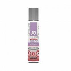 Lubrykant dla wrażliwej skóry - System JO Women Agape Lubricant Warming 30 ml Rozgrzewający