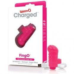 Wibrator na palec - The Screaming O Charged FingO Finger Vibe Pink