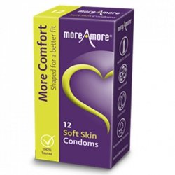 Prezerwatywy - MoreAmore Condom Soft Skin 12 szt