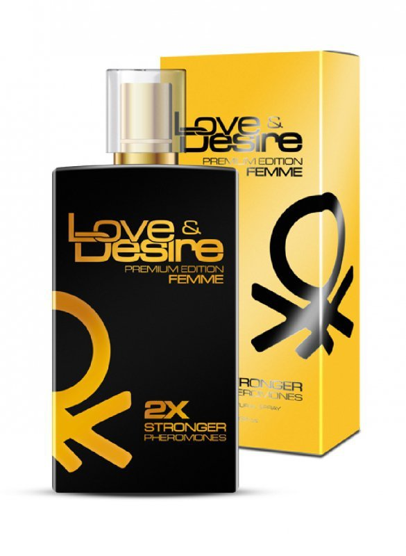 Feromony damskie - Love Desire  Gold (100 ml)