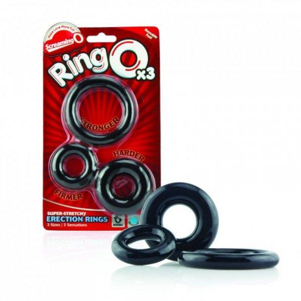 Trzypak pierścieni  - The Screaming O Ringo 3-Pack