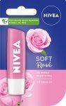 Nivea Lip Care Pomadka ochronna SOFT ROSE  4.8g