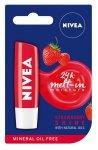 Nivea Lip Care Pomadka ochronna STRAWBERRY SHINE  4.8g