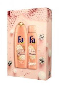 Fa Zestaw prezentowy Divine Moments (Żel pod prysznic 250ml+Dezodorant spray 150ml)