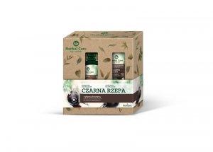 Farmona Zestaw prezentowy Herbal Care Czarna Rzepa (Szampon do włosów 330ml+Odżywka do włosów 200ml)