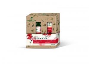 Farmona Zestaw prezentowy Herbal Care Dzika Róża (Kąpiel odżywcza 500ml+krem do rąk 100ml)