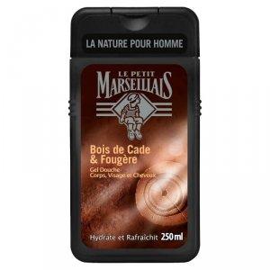 Le Petit Marseillais Żel pod prysznic dla mężczyzn Drzewo Cade  250ml