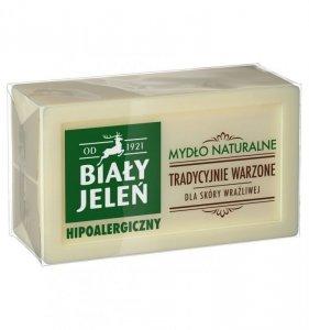 Biały Jeleń Mydło naturalne hipoalergiczne tradycyjnie warzone 150g