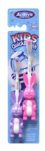 Beauty Formulas Active Oral Care Szczoteczka Kids Króliki (3-6 lat) mix kolorów 1op.-2szt