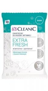 Cleanic Chusteczki do higieny intymnej Extra Fresh  1op.-10szt