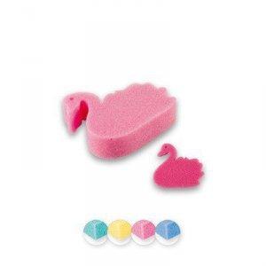 Top Choice Akcesoria kąpielowe Myjka dla dzieci Łabędź (30604) 1szt