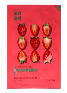 Holika Holika Pure Essence Mask Sheet- Strawberry  1szt