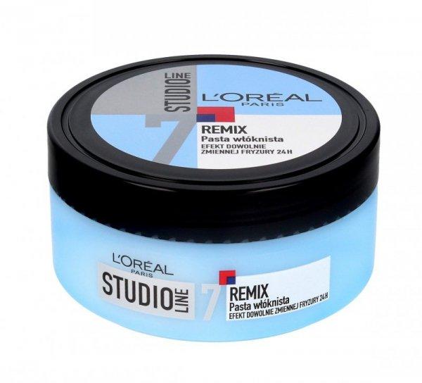 Loreal Special FX Studio Remix Modelująca pasta do włosów, słoik