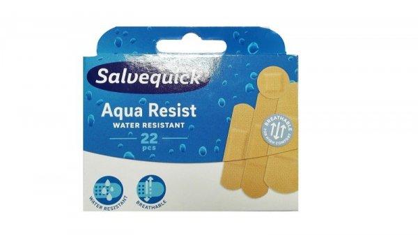 Salvequick Plastry Aqua Resist  wodoodporne  1op-22szt